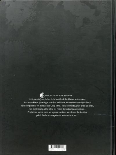 Dos Les 5 terres - édition n&b tome 1 + ex-libris offert