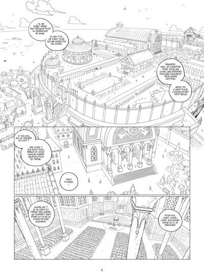 Page 4 Les 5 terres - édition n&b tome 1 + ex-libris offert