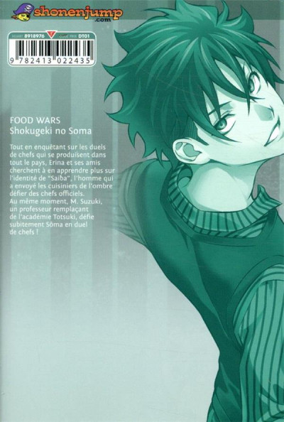 Dos Food wars ! tome 32