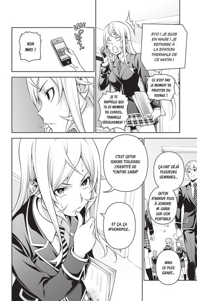 Page 6 Food wars ! tome 32