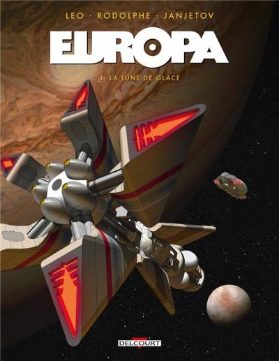 Couverture Europa tome 1 + ex-libris offert