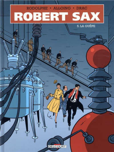 Couverture Robert Sax tome 5