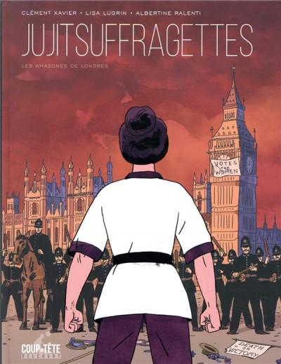 Couverture Jujitsuffragettes - Les amazones de Londres
