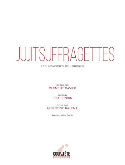 Page 1 Jujitsuffragettes - Les amazones de Londres