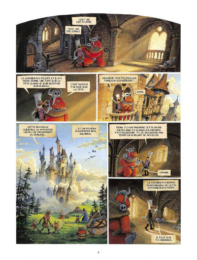 Page 2 Donjon Parade tome 6