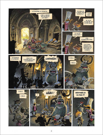 Page 4 Donjon Parade tome 6