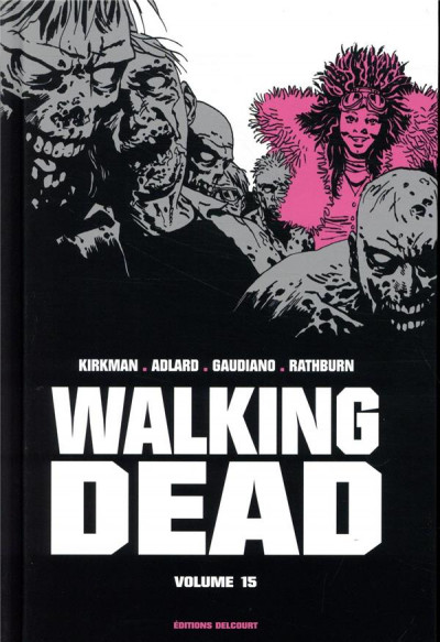 Couverture Walking dead - prestige tome 15