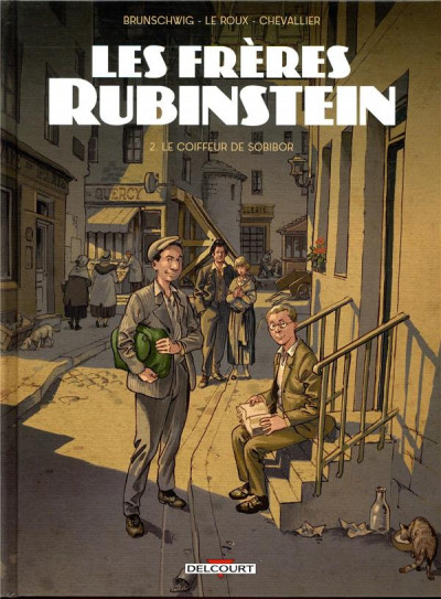 Couverture Les frères Rubinstein tome 2