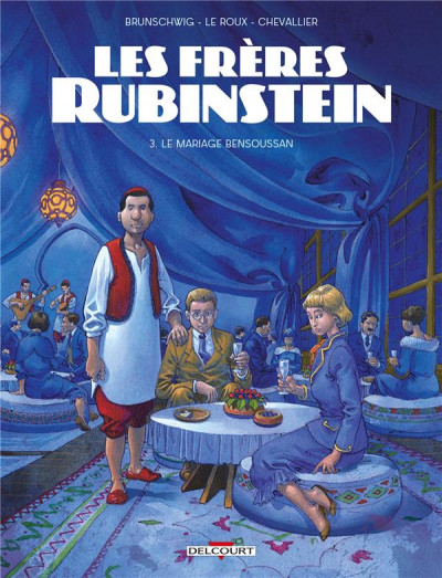 Couverture Les frères Rubinstein tome 3