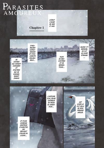 Page 1 Parasites amoureux tome 1