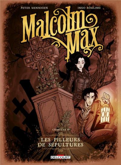 Couverture Malcolm Max tome 1