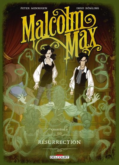 Couverture Malcolm Max tome 2