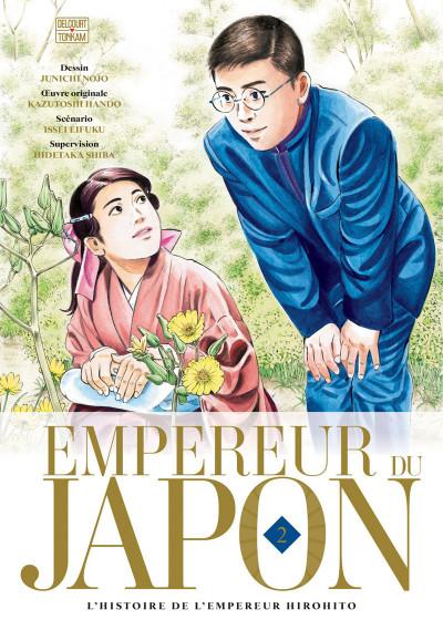 Couverture L'empereur du Japon tome 2