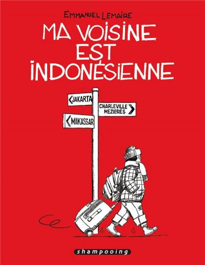 Couverture Ma voisine est indonésienne