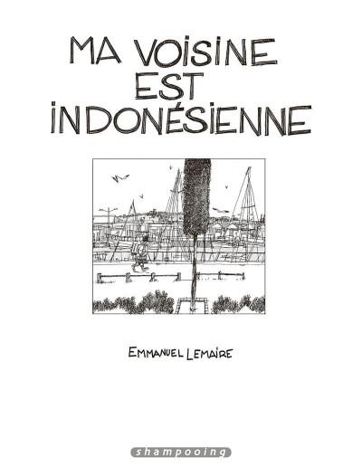 Page 1 Ma voisine est indonésienne