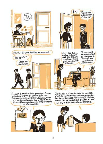 Page 3 L'homme le plus flippé du monde tome 1