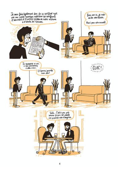 Page 4 L'homme le plus flippé du monde tome 1