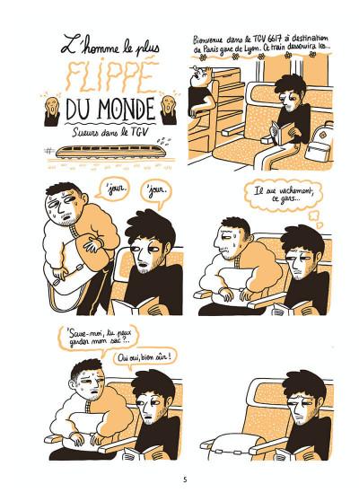 Page 5 L'homme le plus flippé du monde tome 1