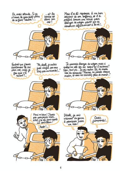 Page 6 L'homme le plus flippé du monde tome 1
