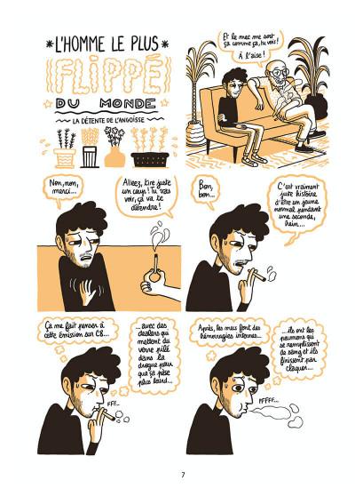 Page 7 L'homme le plus flippé du monde tome 1