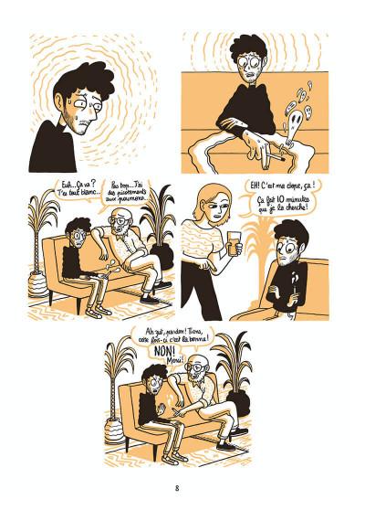 Page 8 L'homme le plus flippé du monde tome 1