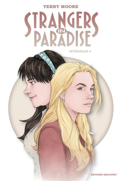 Couverture Strangers in paradise - intégrale tome 4