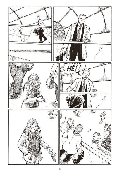 Page 9 Strangers in paradise - intégrale tome 4