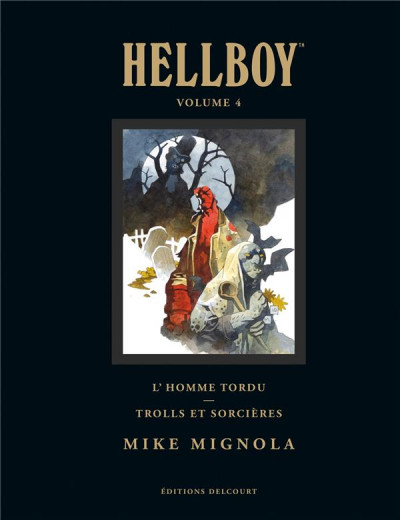 Couverture Hellboy deluxe tome 4