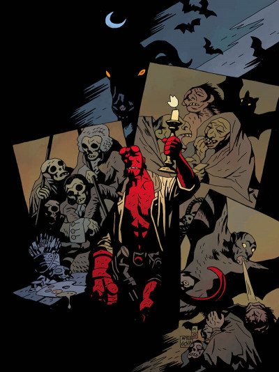 Page 4 Hellboy deluxe tome 4
