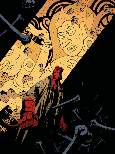 Page 6 Hellboy deluxe tome 4