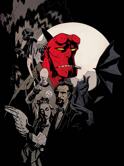 Page 8 Hellboy deluxe tome 4