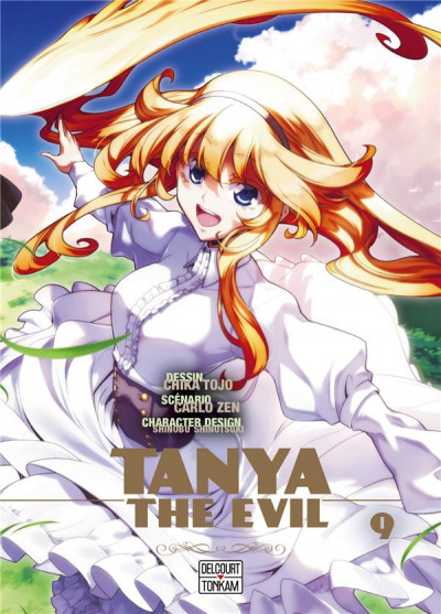 Couverture Tanya the evil tome 9
