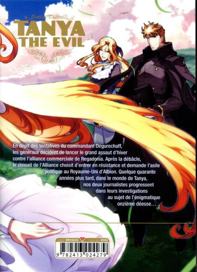 Dos Tanya the evil tome 9