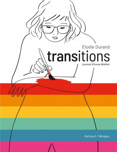 Couverture Transitions  - Journal d'Anne Marbot