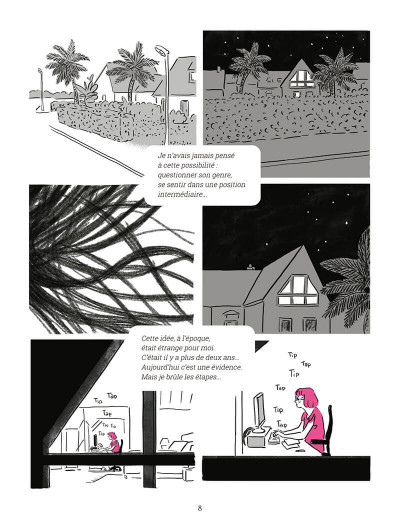 Page 8 Transitions  - Journal d'Anne Marbot