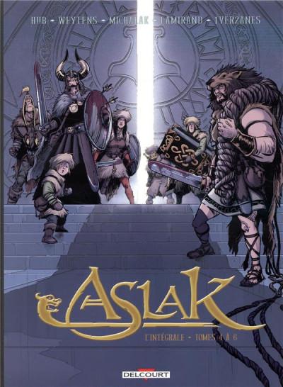 Couverture Aslak - intégrale tomes 4 à 6