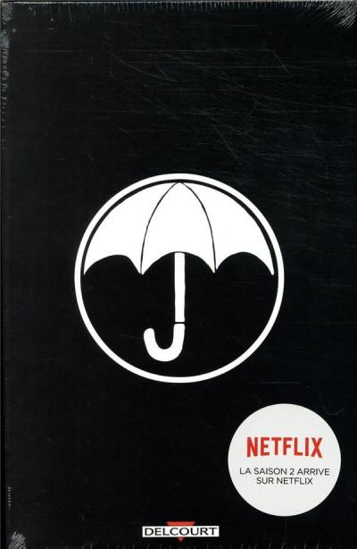 Couverture Umbrella academy - coffret + ex-libris offert