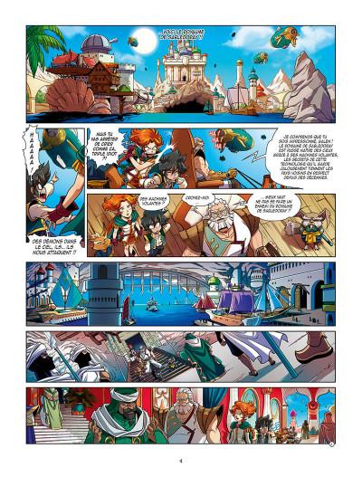 Page 7 Les légendaires - Les chroniques de Darkhell tome 2