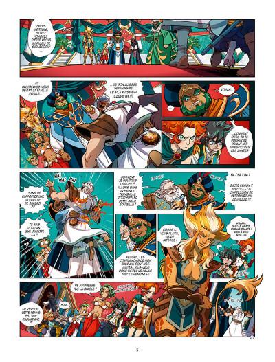 Page 8 Les légendaires - Les chroniques de Darkhell tome 2