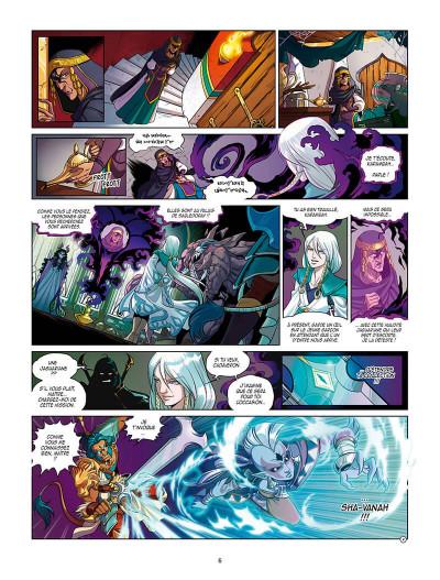 Page 9 Les légendaires - Les chroniques de Darkhell tome 2