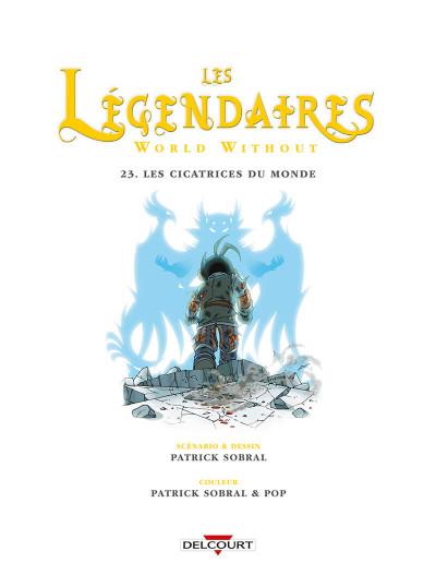 Page 4 Les Légendaires tome 23
