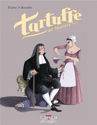 Couverture Tartuffe, de Molière - intégrale