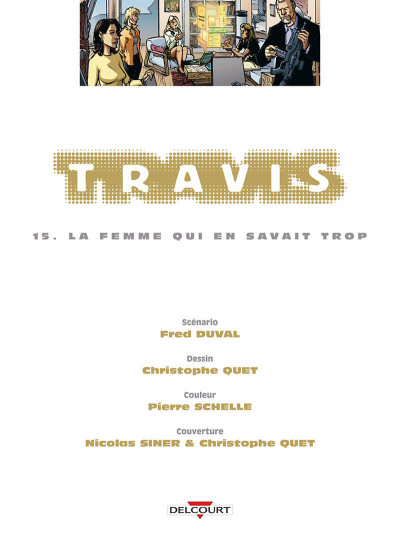 Page 1 Travis tome 15