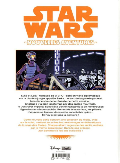 Dos Star wars - nouvelles aventures tome 3