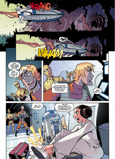 Page 4 Star wars - nouvelles aventures tome 3