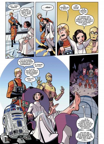 Page 5 Star wars - nouvelles aventures tome 3