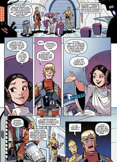 Page 6 Star wars - nouvelles aventures tome 3