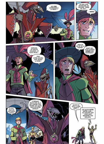 Page 9 Star wars - nouvelles aventures tome 3
