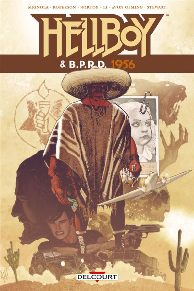 Couverture Hellboy & B.P.R.D. tome 5