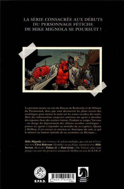 Dos Hellboy & B.P.R.D. tome 5